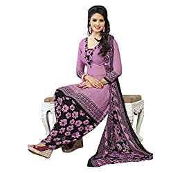 Aagaman Fashion Polyester Unstitched Salwar Suit (TSLCSK5041_Pink)
