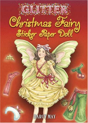 Glitter Christmas Fairy Sticker Paper Doll (Dover Little Activity Books Paper Dolls)