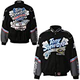 Jh Design Tony Stewart 2011 Champion Adult Twill Jacket Large by NYC Leather Factory Outlet