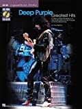 img - for Deep Purple - Greatest Hits: A Step-by-Step Breakdown of the Guitar Style and Techniques of Ritchie Blackmore (Guitar Signature Licks) book / textbook / text book