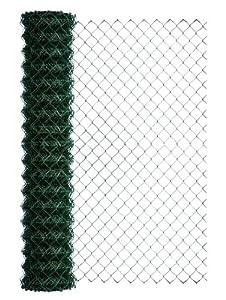 BawiTec Maschendraht Maschendrahtzaun 125cm 25m grün Viereckgeflecht Zaun 4eck Geflecht  GartenÜberprüfung und Beschreibung