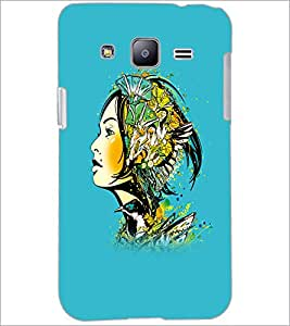 PrintDhaba Abstract Design D-5621 Back Case Cover for SAMSUNG GALAXY J2 (Multi-Coloured)