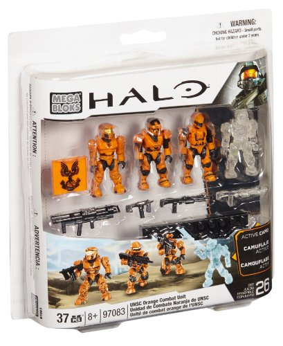 Mega Bloks Halo UNSC Combat Orange Unit (97083)