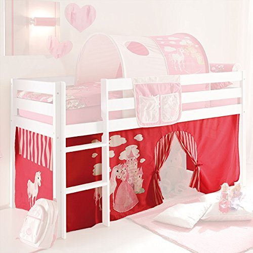 vorhang hochbett. Black Bedroom Furniture Sets. Home Design Ideas