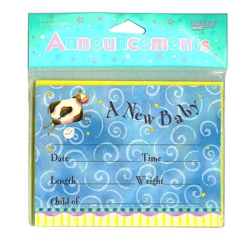 Newborn Baby Cards - 16 Cnt.