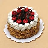 Dollhouse Miniature Black Forest Cake
