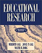 By Meredith D. Gall Educational Research: An…