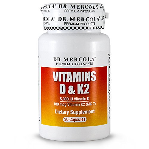 DR MERCOLA Vitamins D and K2 Capsules, 30 Count (Vitamin D And K2 Supplement compare prices)