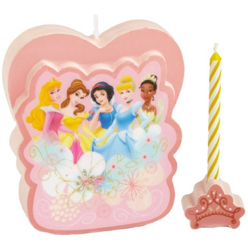 Wilton Disney Princess Candle Set 2811-8800