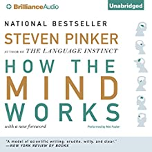 How the Mind Works | Livre audio Auteur(s) : Steven Pinker Narrateur(s) : Mel Foster