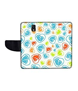 KolorEdge Printed Flip Cover For Samsung Galaxy Note 3 Neo Multicolor -(55KeMLogo12429SamN750)