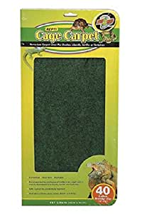Buy Zoo Med Reptile Cage Carpet For 40 Gallon Tanks 36 X