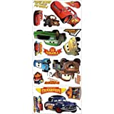 York Wallcoverings RMK1520SCS RoomMates Cars - Piston Cup Champs Peel & Stick Wa,