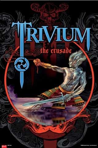 Poster - Trivium - The Crusade - Musik Poster Druck Plakat Print von Trivium