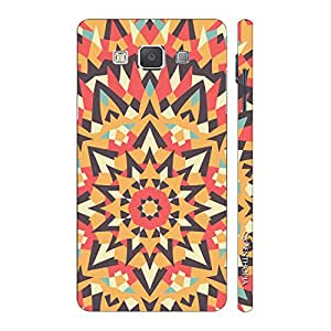 Enthopia Designer Hardshell Case Abstract Art 1 Back Cover for Samsung Galaxy E7
