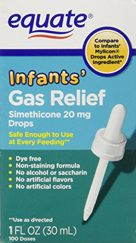 Infants' Gas Relief Drops by Equate, Simethicone 20mg 1oz Compare to Mylicon Drops (Infant Gas Relief Drops compare prices)