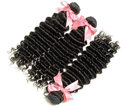 Danolsmann-Hair-Natural-Black-Color-Malaysia-Kinky-Curly-Human-Hair-Aaaaa-Grade-High-Quality-Hair-Deep-Wave-3-Bundles-300g