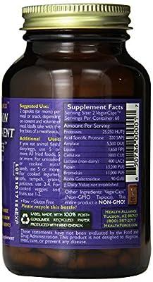 Healthforce Digestion Enhancement Enzymes, Vegancaps, 120-Count