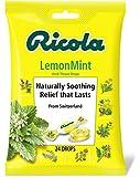 Ricola Herb Throat Drops, Lemon-Mint, 24 Drops (Pack of 12)