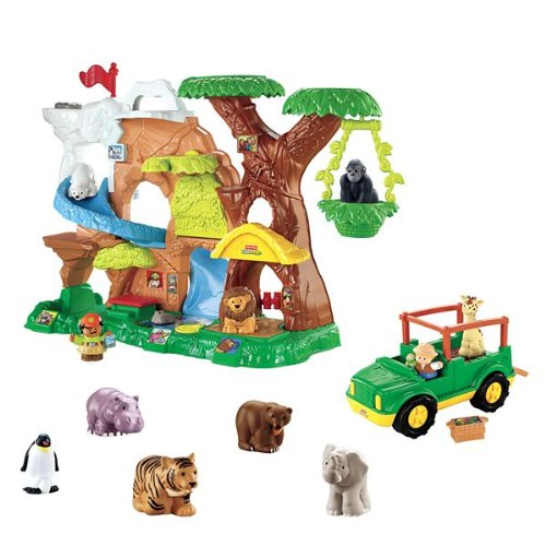 Fisher-price Little People Zoo Talkers Bonus Pack - 1