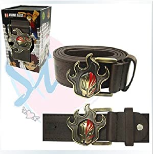 Japanese Anime Leather Belt with buckle Costume Cosplay,Bleach