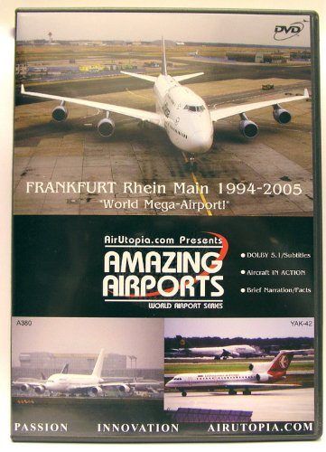 Frankfurt Rein Main Dvd World MEGA-AIRPORT A380 1ST Arrival