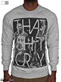 Kanye West & Jay Z Sweatshirt, Mens Printed That Shit Cray Jumper, Watch The Throne Fashion Sweater