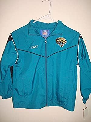Reebok Nfl Jacksonville Jaguars Youth Size 8 Windbreaker Jacket