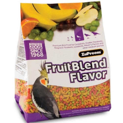 Medium Fruit Blend Bird Diet Size: 2 Pounds