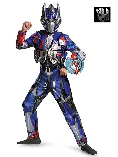 Disguise Hasbro Transformers Age of Extinction Optimus Prime Dlx Boys Costume