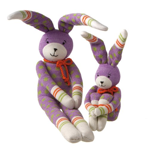 Midwest-CBK Reggie Rabbit Acrylic Yarn Collectible, Medium