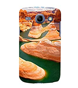 printtech Grand Canyon Nature View Back Case Cover for Samsung Galaxy J1 (2016 EDITION )/ J120F (Global); Galaxy Express 3 J120A (AT&T); J120H, J120M, J120M, J120T Also known as Samsung Galaxy J1 (2016) Duos with dual-SIM card slots