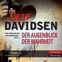 Der Augenblick der Wahrheit [The Moment of Truth] (       ungekürzt) von Leif Davidsen, Peter Urban-Halle (translator) Gesprochen von: Samy Andersen