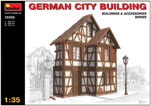 Buy Low Price Dragon Models MiniArt 1/35 German City Building with Bonus Figure Set by Dragon Models (B001EHA9PO)