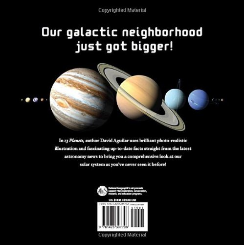 13 Planets: The Latest View of the Solar System (National Geographic Kids)