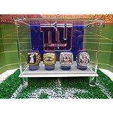 NY Giants Championship Ring Display case
