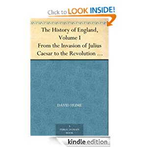 Logo for The History of England, Volume I From the Invasion of Julius Caesar to the Revolution in 1688