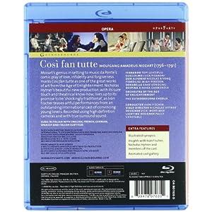 Cosi Fan Tutte [Blu-ray] [(+booklet)]