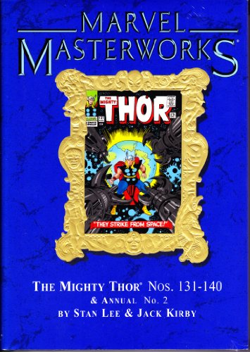MARVEL MASTERWORKS Volume 69 [Variant Cover] MIGHTY THOR 131-140 (Marvel Masterworks 135 compare prices)