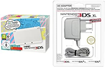 Pack New Nintendo 3DS blanc + Bloc d'alimentation