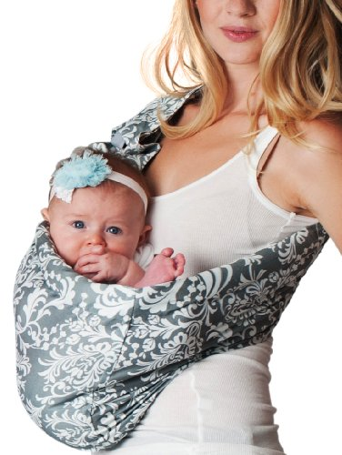 Buy Hotslings Adjustable Pouch Baby Sling, Overcast, Regular
