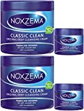 Noxzema Classic Clean Original Deep Cleansing Cream, 12 Ounce [With Bonus 2 Ounce] (Pack of 2)