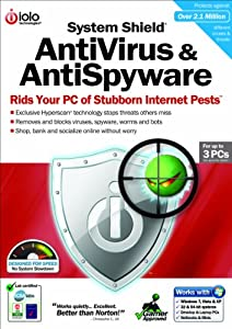 System Shield 4 Antivirus and Antispyware, up to 3 PCs (PC)