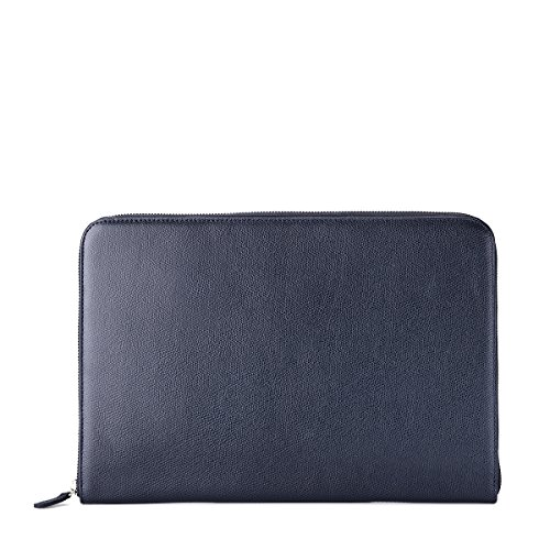 zip-around-folio-grained-leather-petrol