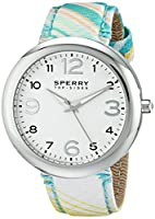 Sperry Top-Sider Women's 10014920 Sandbar Analog Display Japanese Quartz Green Watch by Sperry Top-Sider Watches MFG Code