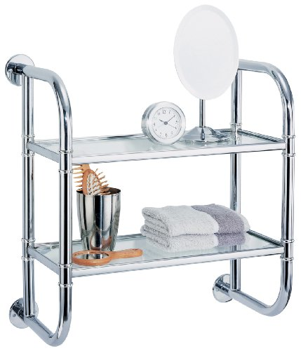 Organize It All 2 Tier Bath Shelf