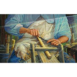 The Hands of the Master Craftsman 550pc Jigsaw Puzzle by Jack E. Dawson
