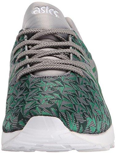 ASICS GEL-Kayano Trainer Evo Retro Running Shoe, Green/Green, 8 M US