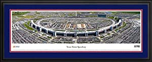 NASCAR Tracks - Texas Motor Speedway Aerial - Framed Poster Print by Laminated Visuals