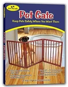 Pet Parade Folding Pet Gate